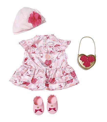 Baby Annabell 702031 Deluxe Set Blumen 43cm, rosa, rot