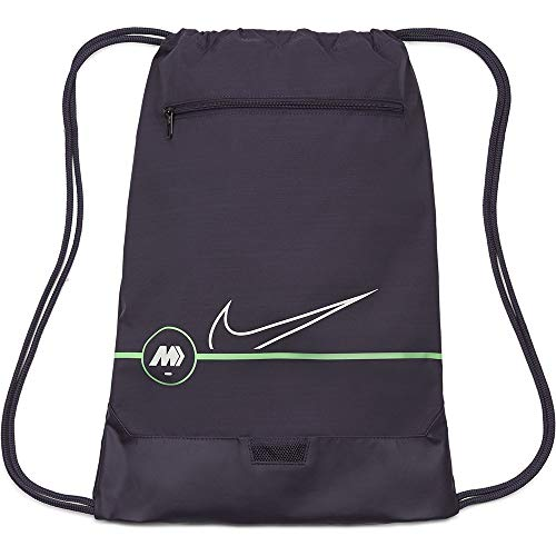Nike CU8163 Merc Sp21 Gymsack Dark raisin/Rage Green/Platinu One Size