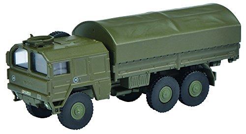 Schuco 452626000'Man LKW 7t GL Bundeswehr 1:87' Fahrzeug, grün
