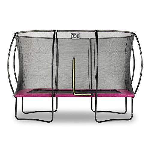 EXIT Silhouette Trampolin 244x366cm - rosa