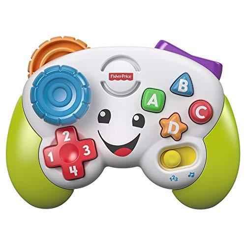 Fisher-Price FWG14 - Lernspaß Spiel Controller Lernspielzeug und Baby Spielzeug für Buchstaben Zahlen...