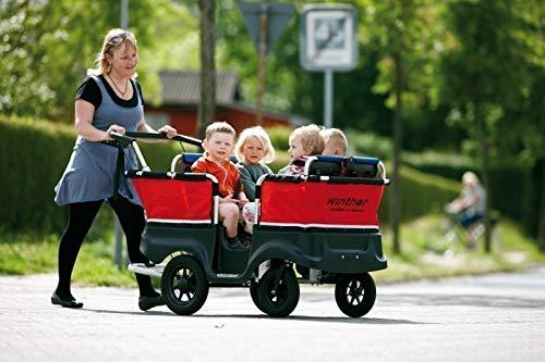 Unbekannt Turtle Kinderbus für 4 Kinder (Belastbarkeit: bis 70 kg Gesamtgewicht) von Winther