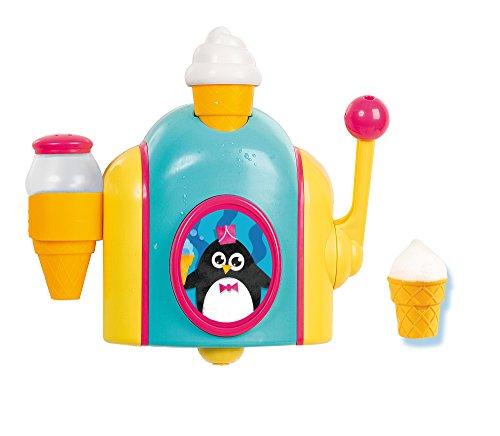 TOMY Schaumeismaschine, Wasserspielzeug für die Badewanne in Farbenfrohem Design, Badespaß für Kinder,...