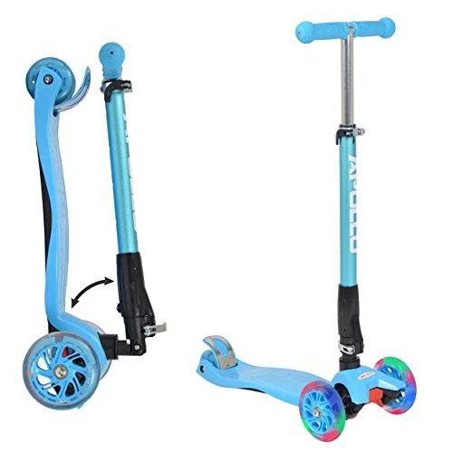 Apollo: Fun-Scooter Kids Whiz LED Roller für Kinder ab 3 Jahre