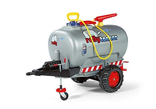 Rolly Toys rollyTanker Fass-Anhänger mit Pumpe und Spritze (für Kinder von 3 - 10 Jahre, mit Stützrad,...