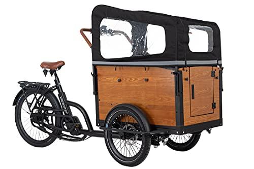 Adore Cargo E-Bike Straight Lastenrad mit Li-Ion-Akku 7 Gänge