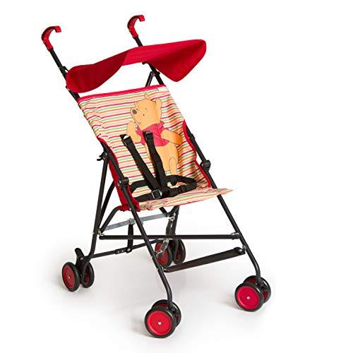 Hauck Sun Plus Disney Buggy, klein zusammenfaltbar, für Kinder ab 6 Monate bis 15 kg, blau (Mickey Geo...