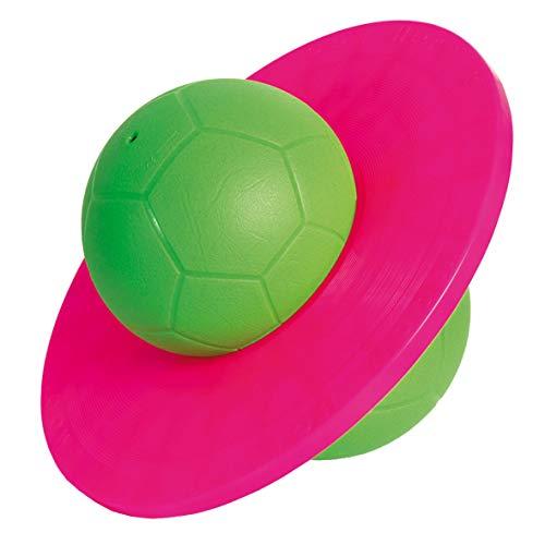 TOGU Hüpfball Moonhopper grün/pink, bis 45 kg belastbar