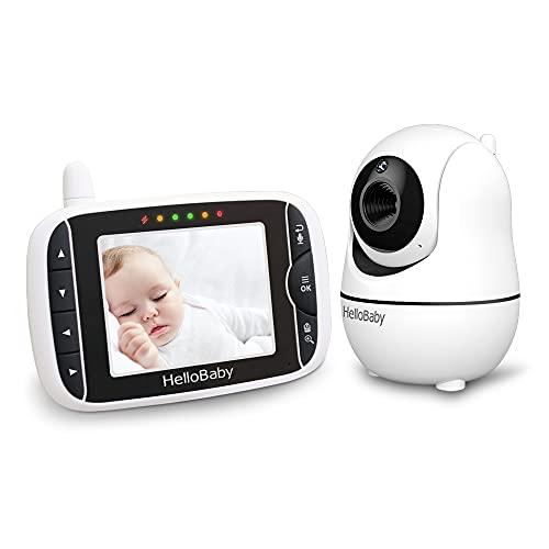 Babyphone mit Kamera,Baby Monitor,Baby-Monitor mit Kamera Babyphone mit ferngesteuerter...