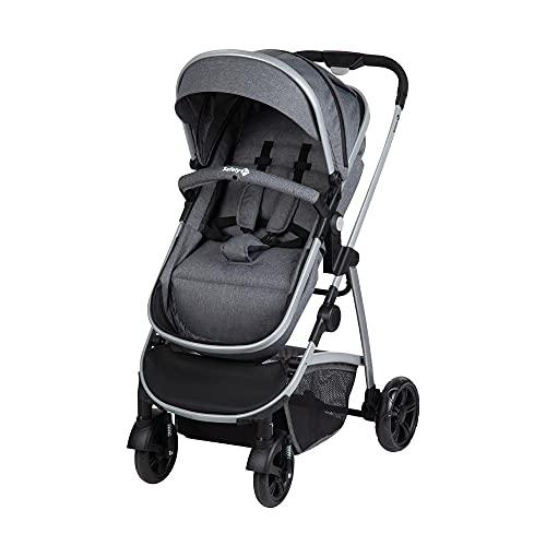 Safety 1st Kinderwagen Hello 2-in-1, zusammenfaltbarer Buggy mit wandelbarem Sitzeinhang zu Babywanne,...