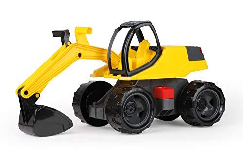 Lena 02141 - Starke Riesen Bagger, Giga Trucks Sandbagger ca. 80 cm groß, stabiler 360 Grad...