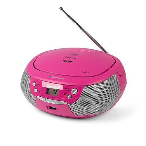 Blaupunkt B 4 PLL Kinder CD Spieler mit UKW PLL Radio, CD-Player, USB-Anschluss, AUX IN,...