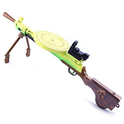 RSHJD Leichte Maschinengewehr Schlüsselanhänger, Spielzeugwaffe Keychain Set, Geschenke für Jungen,...