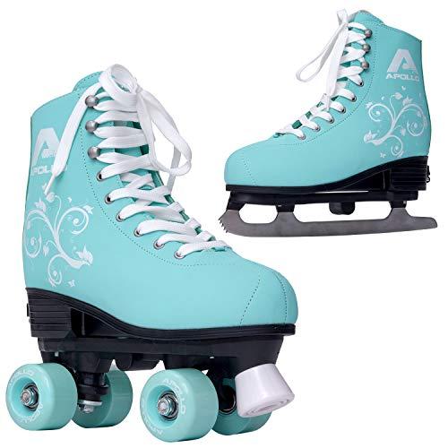 Apollo Superskate 2 in 1, Multiskates, Rollschuhe & Schlittschuhe für Damen und Kinder, Skates in 3...