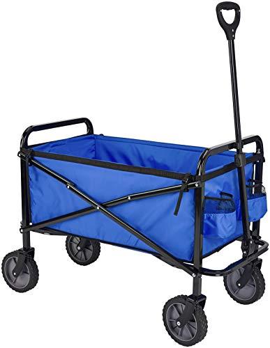 Amazon Basics Zusammenklappbarer Bollerwagen für den Garten, faltbar, mit Abdeckung, für den...