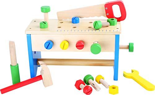 Small Foot by Legler: Kinder-Werkzeugkasten und Werkbank