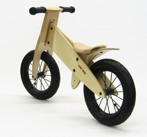 Kokua LIKEaBIKE Spoky Like a Bike Leder Champagner Speichen schwarz