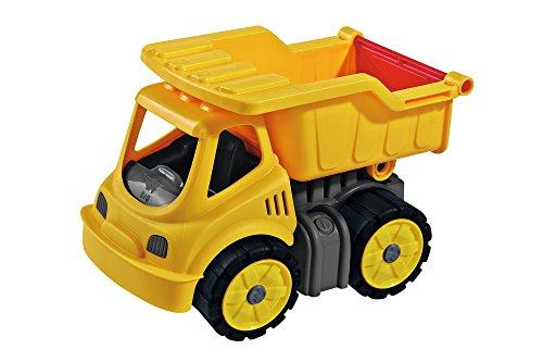 BIG-Power-Worker Mini Kipper, Kippfahrzeug geeignet als Sandspielzeug und für das Kinderzimmer, Reifen...