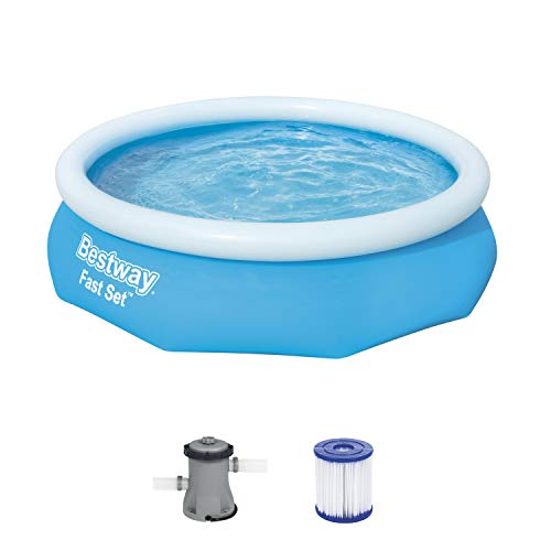 Bestway Fast Set Pool-Set mit Filterpumpe, rund, 305 x 76 cm