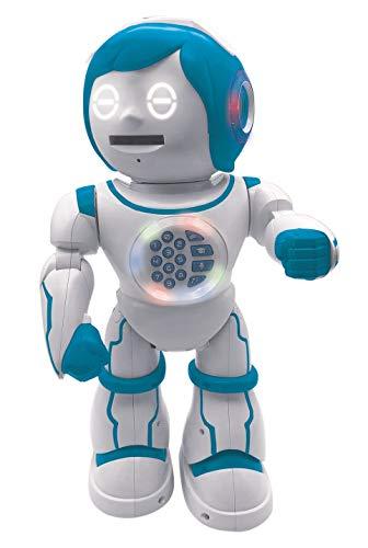 Lexibook ROB90DE Powerman Kid-Pädagogischer und zweisprachiger deutsch/englischer Roboter-Gehend...