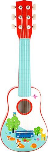 small foot 10725 Kindergitarre aus Holz, das erste Musikinstrument, fördert musikalische Fähigkeiten,...