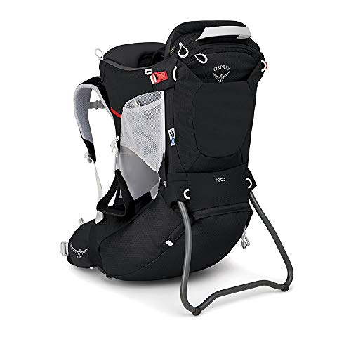 Osprey Poco Kindertragerucksack zum Wandern, unisex - Starry Black O/S