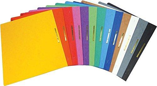 Brunnen Schnellhefter Pappe extrastark - GROßPACK bunt - 26 Stück bzw. Farben im Pack - für Schule,...