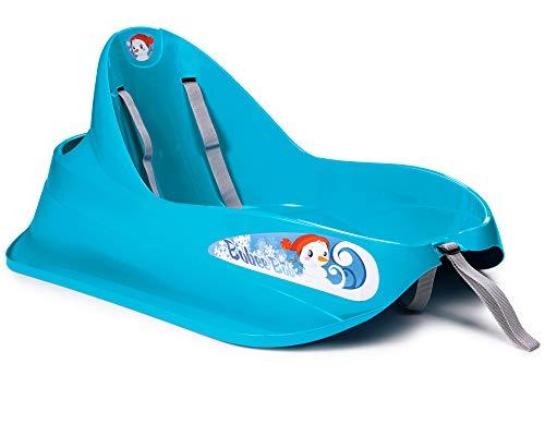 Ondis24 Schlitten: Bob für Kleinkinder mit Sicherheitsgurt