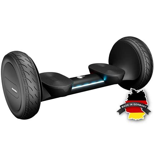 Wheelheels Balance Scooter, Hoverboard 'Offroad Alpha' - 10' Luftreifen, Wasserdicht, Aluminiumkarosserie...