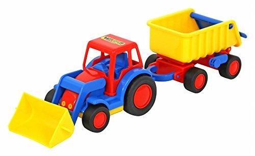 Wader 36130 - Basics Traktor mit Anhänger