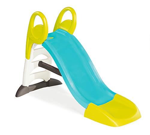 Smoby 310269 – KS Rutsche – kompakte Kinderrutsche mit Wasseranschluss, 1,5 Meter lang, mit...