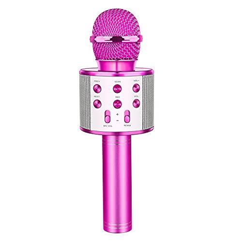 LetsGO toyz Mädchen Geschenke 4-12 Jahre, Kinder Mikrofon Kinderspielzeug ab 4-12 Jahre Spielzeug...