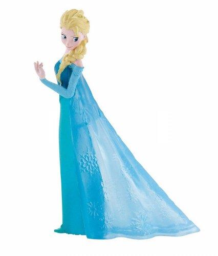 Bullyland 12961 - Spielfigur, Disney Die Eiskönigin - Frozen Prinzessin Elsa, ca. 10 cm, ideal als...