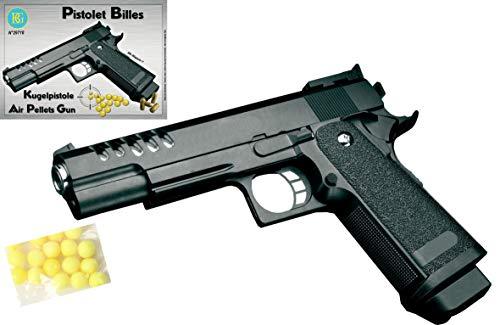 Spielzeug Pistole Toy Gun Super Police Soft Air mit 30