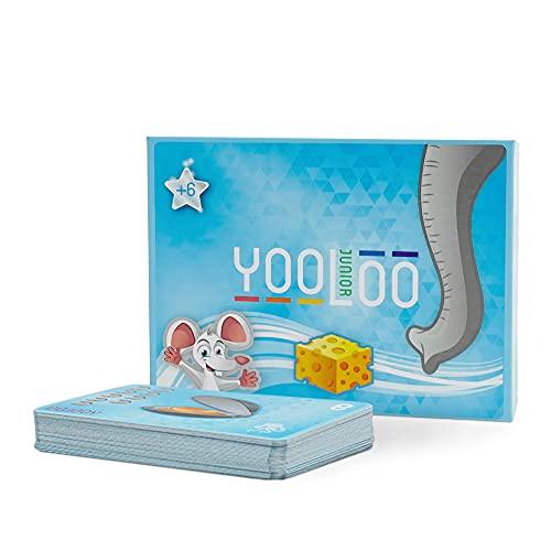 YOOLOO JUNIOR – Das Coole Kartenspiel für Kinder mit niedlichen Tier-Motiven (2 bis 8 Personen, 2...