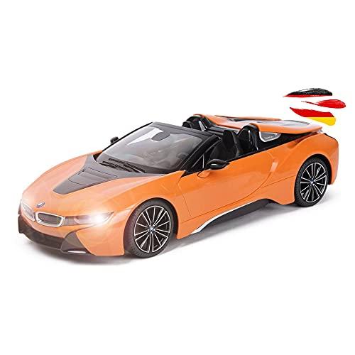 BMW i8 Roadster Limited Edition - RC ferngesteuertes Lizenz-Fahrzeug im Original-Design, Modellauto Car...