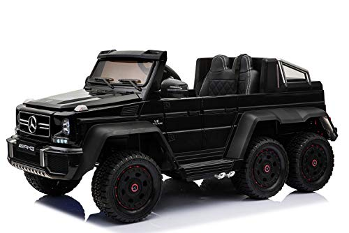 RIRICAR Elektroauto für Kinder Mercedes-Benz G63 6X6, 2,4 GHz, 12V14AH, 4-Fach-Motor, Fernbedienung,...