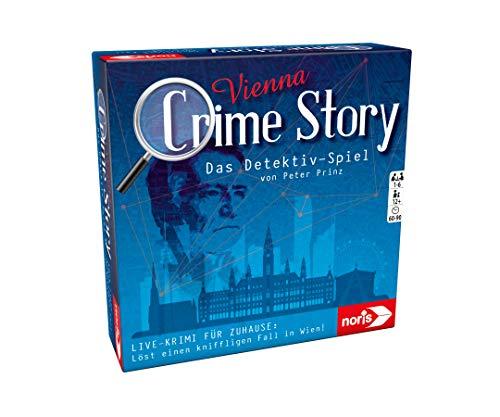 Noris 606201888 Crime Story Vienna-Das Detektiv Spiel-Storybasiertes Krimi-Kartenspiel zum Thema Wien, ab...