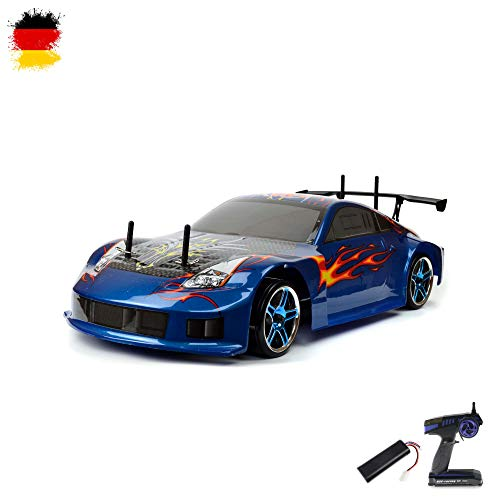 HSP Racing 1:10 RC Drift car Flying Fish 1800mAh Farbe variiert
