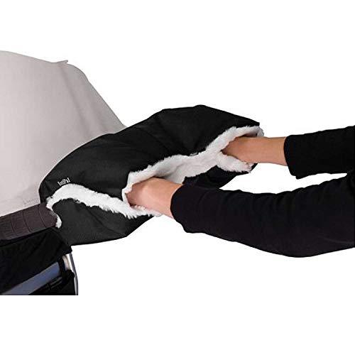 IntiPal Kinderwagen Handwärmer, Handwärmer Handschuhe Handmuff mit Fleece, Universal Kinderwagen Muff...