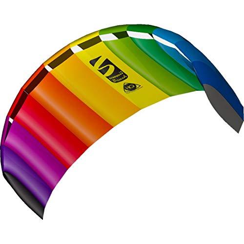 HQ 11768250 - Symphony Beach III 1.8 Rainbow, Zweileiner Lenkmatten, ab 12 Jahren, 60x180cm, inkl. 70 kp...