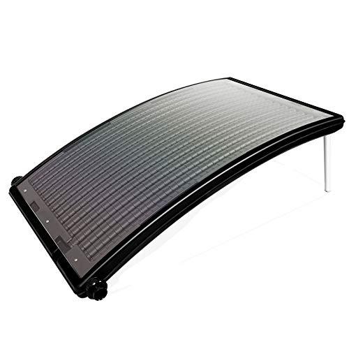 wolketon Poolheizung Sonnenkollektor 110 x 69 x 14 cm Solarheizung für Pool Heizsystem Solar...