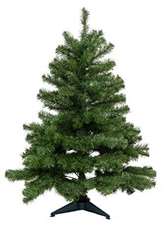 HEITMANN DECO - Künstlicher Weihnachtsbaum - zum Zusammenstecken - 120cm - mit Kunststofffuss - Grün -...