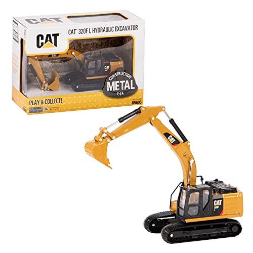 Diecast Masters 85606 - Caterpillar Kettenbagger 320F L, detailgetreues CAT Baufahrzeug in...