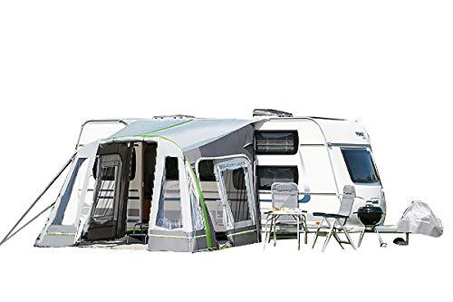 dwt Vorzelt Wohnwagen aufblasbar Junior Air 320x290 cm Camping Air-In Doppelhubpumpe Ultraleicht...