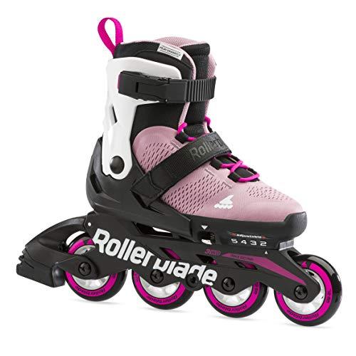 Rollerblade Microblade Inline-Skate, Rosa/Bianco, Small EU