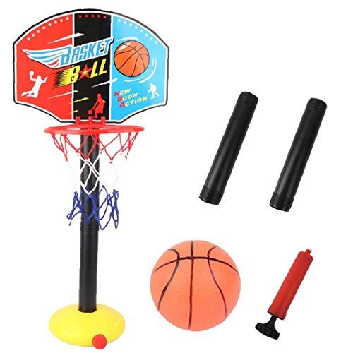 DierCosy Ständer Basketball Kinder Ballspiel Höhenverstellbarer Basketballkorb Ballständer Für...