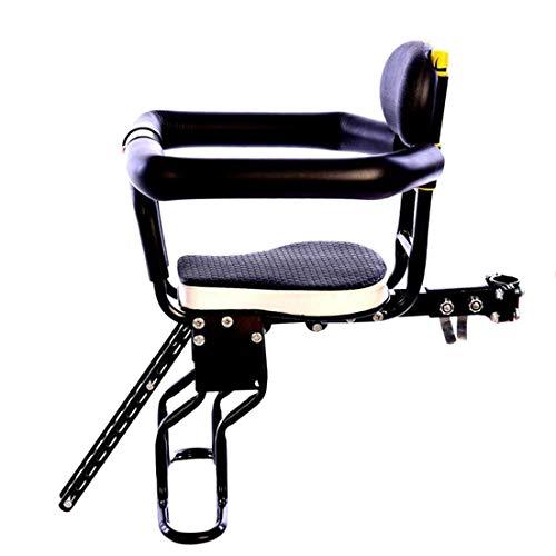 Macium Kinderfahrradsitz, Kindersitz Fahrrad Vorne Leichte Fahrradsitz Kindersitz mit Leitplanken und...