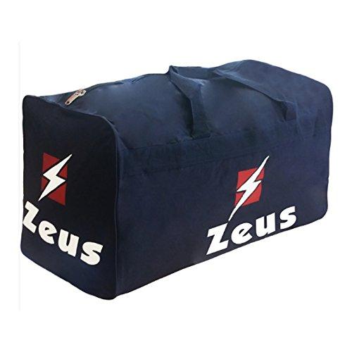 Zeus BORSA PORTADIVISE 70 x 50 x 40 cm Tasche zum Tragen von Basketball, Fußballuniformen (blau)