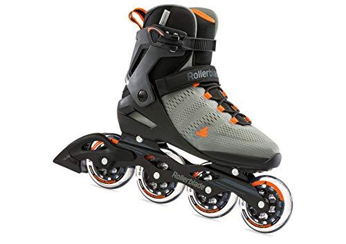 Rollerblade Herren Sirio 90 Inline-Skate, Antracite/Arancio, 43 EU